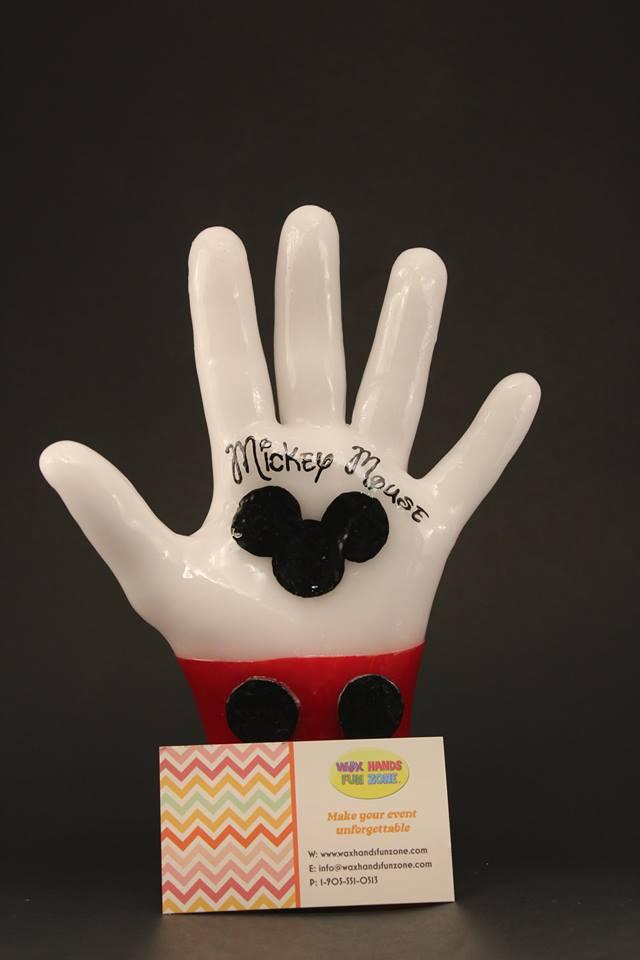 WaxHandsFunZone – Mickey Mouse
