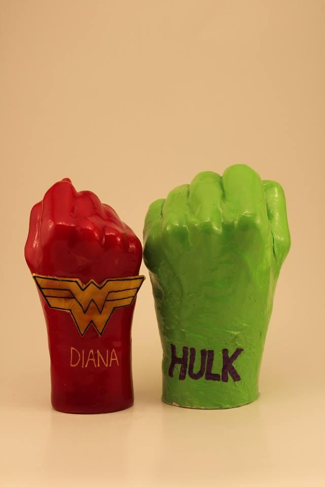 WaxHandsFunZone – Plaster vs Wax character hands