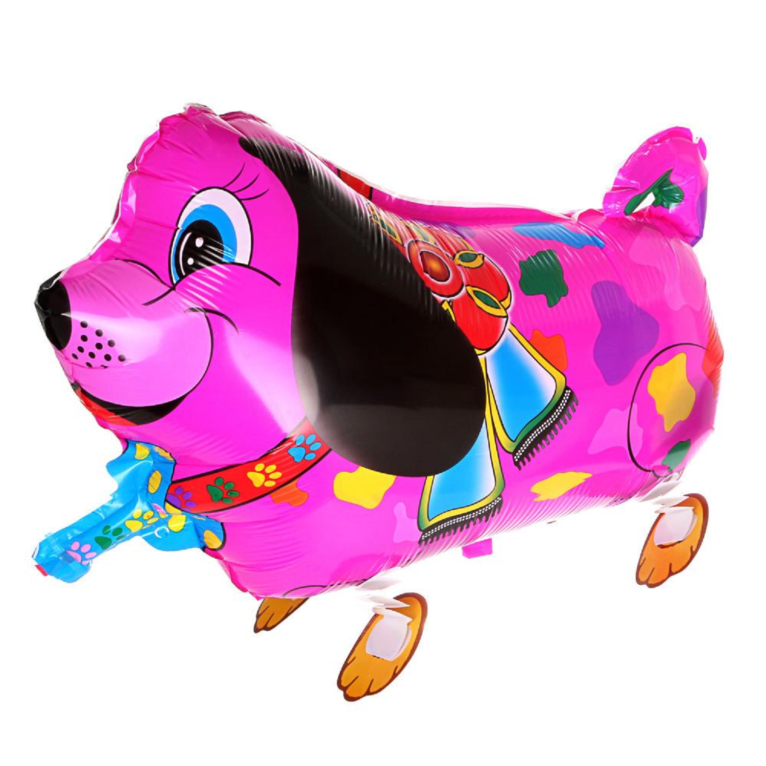 Pink Dog Colored Spots  (Item: D7)
